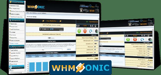 Panel WHMSonic